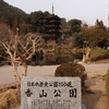 雪降る瑠璃光寺五重塔