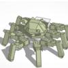 3DCADサービス「TinkerCAD」を使って、ロボットの3Dモデルを作ってみる