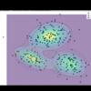 【Python】9.2.2:混合ガウス分布のEMアルゴリズム【PRMLのノート】