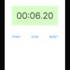アプリ開発初心者がストップウォッチアプリ作ってみた【iPhoneアプリ開発】【Swift】