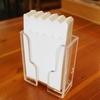 松屋の紙ナプキンは使いやすい。小さな工夫を積み重ねる