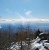高峰温泉と雪山スノーシュー体験