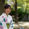 浴衣 のんさん!その16 ─ 2019.9.28 大阪 中津公園 ─