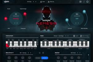 UJAM、BeatMakerシリーズにNemesis登場。近未来ディストピア×ドラムンベースのビートとサウンドを生み出すインストゥルメント