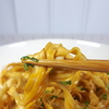 ちょい辛で食べやすい 台湾メーカー、味丹の【袋めん】汁なし刀削麺
