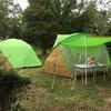 イレブンオートキャンプパークでキャンプをした【2日目】(雨天時の撤収編)