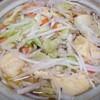 昨日の夕食 餃子鍋