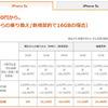 KDDI au版iPhone5s/5c端末代金&料金プラン発表