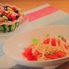 おびゴハン!【スイカの冷製パスタ】【スイカのフルーツゼリー 】レシピ
