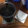 外部フィルター(メガパワー2045)の活性炭をリングろ材へ置き換え