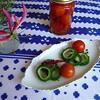 ゴーヤのピクルス&プチトマトのピクルス