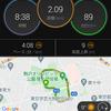 走り初め - 駒沢公園10k