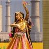 ラジャスタンダンスの舞台〜♪ナマステインディア☆*:.。. o(≧▽≦)o .。.:*☆