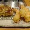 天ぷら まきの 天然海老天定食を食べた