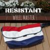 RESISTANT(レジスタント) / WHEEL MASTER(ウィールマスター) -プロメッセンジャーによるメッセンジャーバッグ!