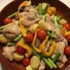 【ラクラク】夏野菜と鶏もも肉のオーブン焼き