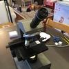 中古で買った顕微鏡(オリンパス製)で微生物を見る趣味。
