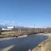 奈良井川と北アルプス
