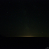 美瑛の丘のペルセウス座流星群