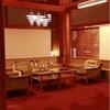 長野 旅館宿泊レポ インパクトのあるペンダント照明