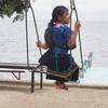 サンアントニオ・パロポの民族衣装を纏った少女【グアテマラ通信】