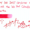 #0926 DIAMINE the Ink Vent Calender Poinsettia