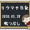 2020年3月28日のリウマチ日記 暇つぶし