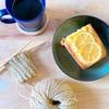 【編み物とシンプルな暮らし9回目】手作りパウンドケーキとコーヒーと編み物時間