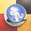 【青いラテ】王宮近くのおすすめカフェ「Blue Whale Maharaj(ブルーホエール マハラート)」