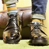 コードバン靴にワックスを重ねて経年変化を楽しみたい
