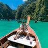 プーケットピピ島ツアーでPileh Lagoon (ピレーラグーン)巡り