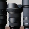 ズームレンズは24-70mmと70-180mmと100-400mmの高コスパ3本でいいんじゃないか?