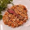殿堂入りのお皿たち その427【中国菜智林 の 蝦夷鹿のカシューナッツの纏い揚げ】