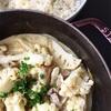豚肉とカリフラワーのディジョンマスタード煮〜バイリンガルの狭間で…