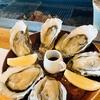 厚岸の牡蠣を食す