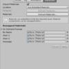 Unity  インポートしたfbxのマテリアルを編集・操作・変更できない場合