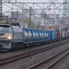 12月2日撮影 東海道線 平塚~大磯間 EF66-27号機牽引の1097レとE235系1000番台J編成4連の試運転等々を撮影