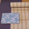 木綿着物と半巾帯の組み合わせ