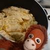 猿のエサ■料理初心者のオイラが餃子のアヒージョで効率的にニンニクを摂取してみた。