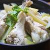 レモンペパーミックスでさわやか!手羽元とセロリ、ジャガイモの簡単煮込み