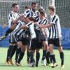 プリマベーラ:ナポリを下し、リーグ戦初勝利を手にする