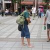 真夏の台湾・台北で遭遇したおっちゃん!そのギター何かおかしいで!