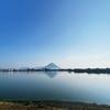 一日一撮 vol.404 溜池の讃岐富士