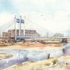 多摩川・是政橋