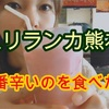 【スリランカ熊本∞中央区】カレー  MAX12辛食べた件《YouTube有り》