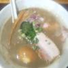 自家製麺5102  泥煮干し中華そば 味玉
