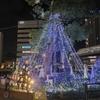 JR・名鉄刈谷駅前のクリスマスイルミネーション(刈谷市)