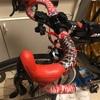 バーテープ巻き直し(lizard skins  DSP3.2 wildfire camo)