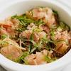椎茸のアヒージョ、生ハムのせのレシピ