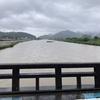 仕事で三原市・竹原市に行ってきました!所々崩れていたり道路を水が流れていました(~_~;)